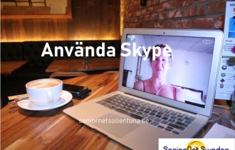 Bild Använda Skype
