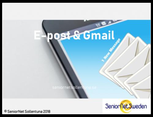 E-post & Gmail