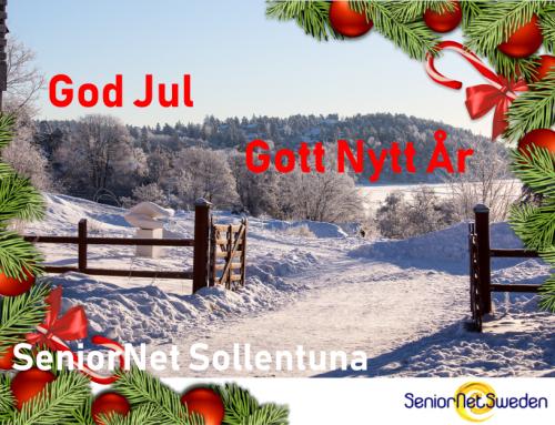 Julhälsning 2018